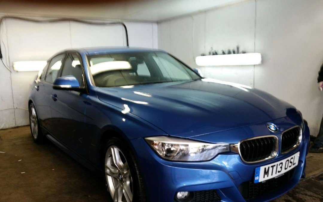 Beautiful BMW in for a Full auto glym Valet